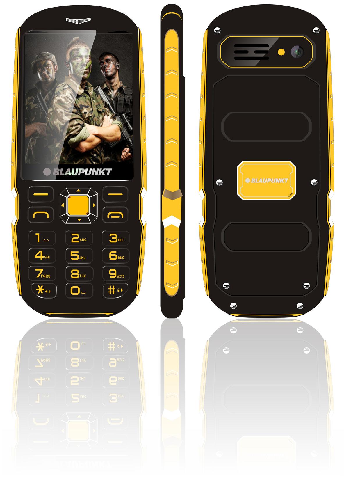 BLAUPUNKT RS01 IP57 RUGGED PHONE