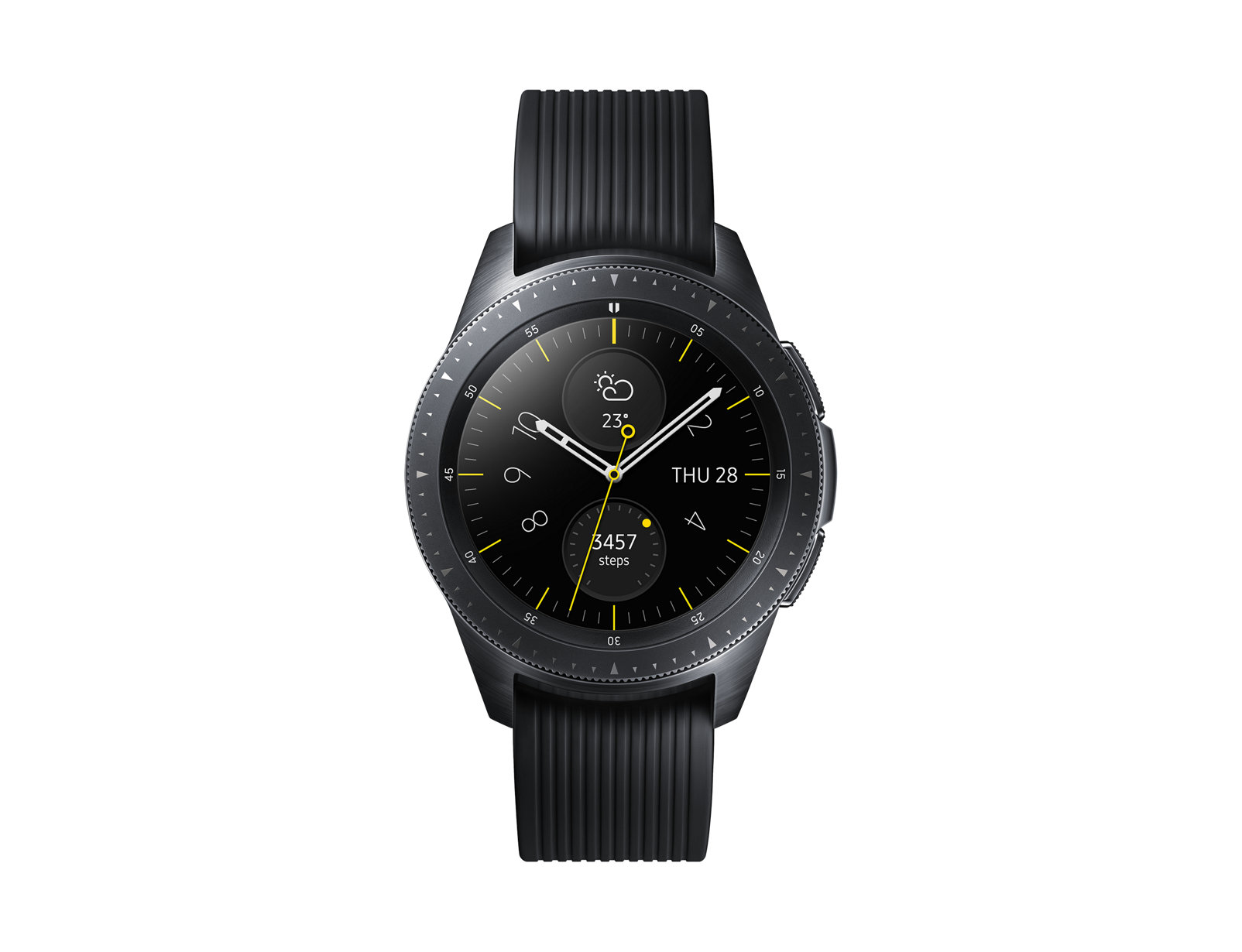 SM-R810NZKAXEH Galaxy Watch - Midnight Black