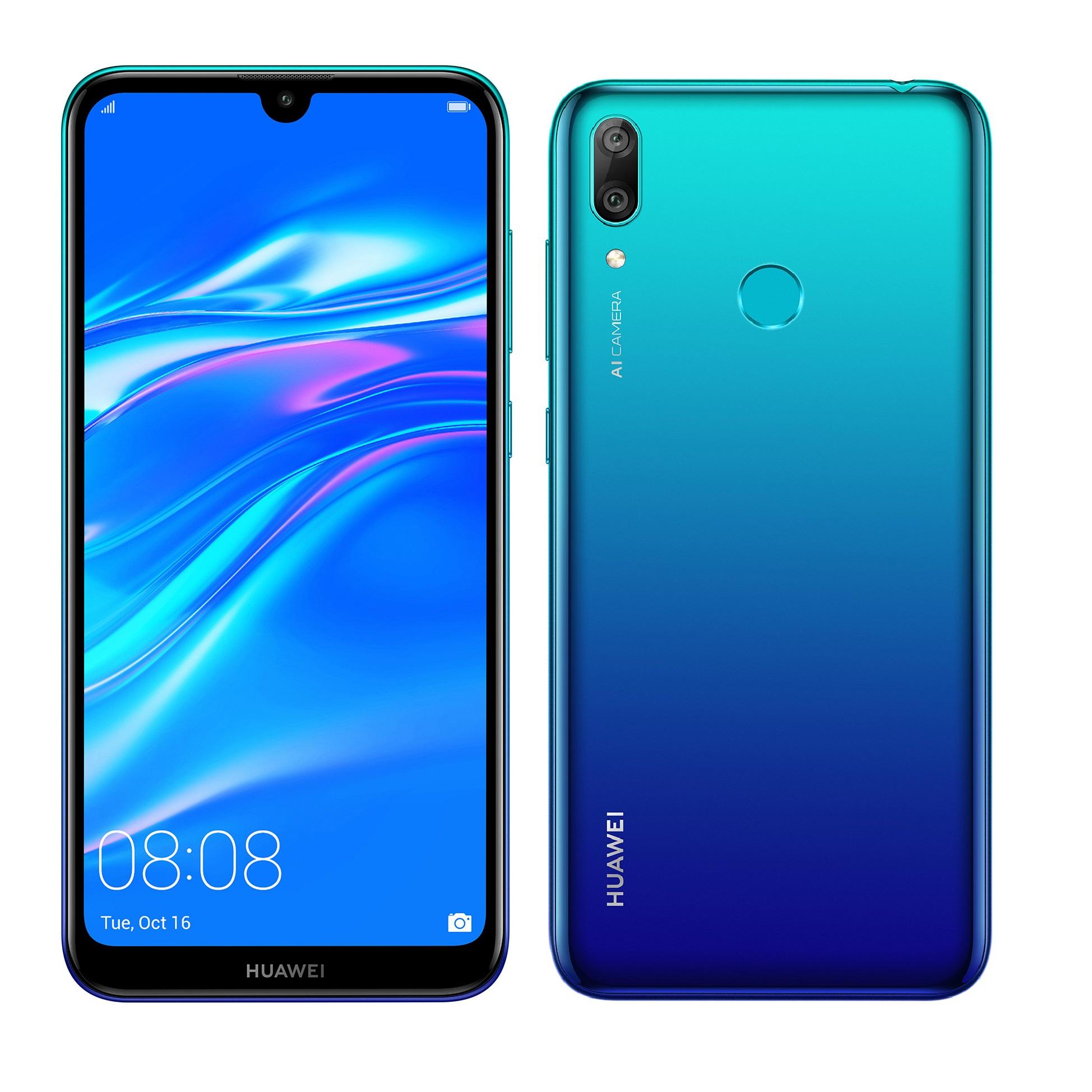 Huawei Y7 2019 DS, AURORA BLUE