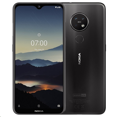 Nokia 7.2 DS 6/128 GB, CHARCOAL