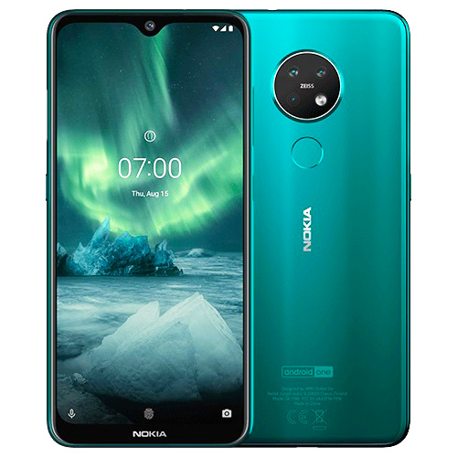 Nokia 7.2 DS 6/128GB, GREEN