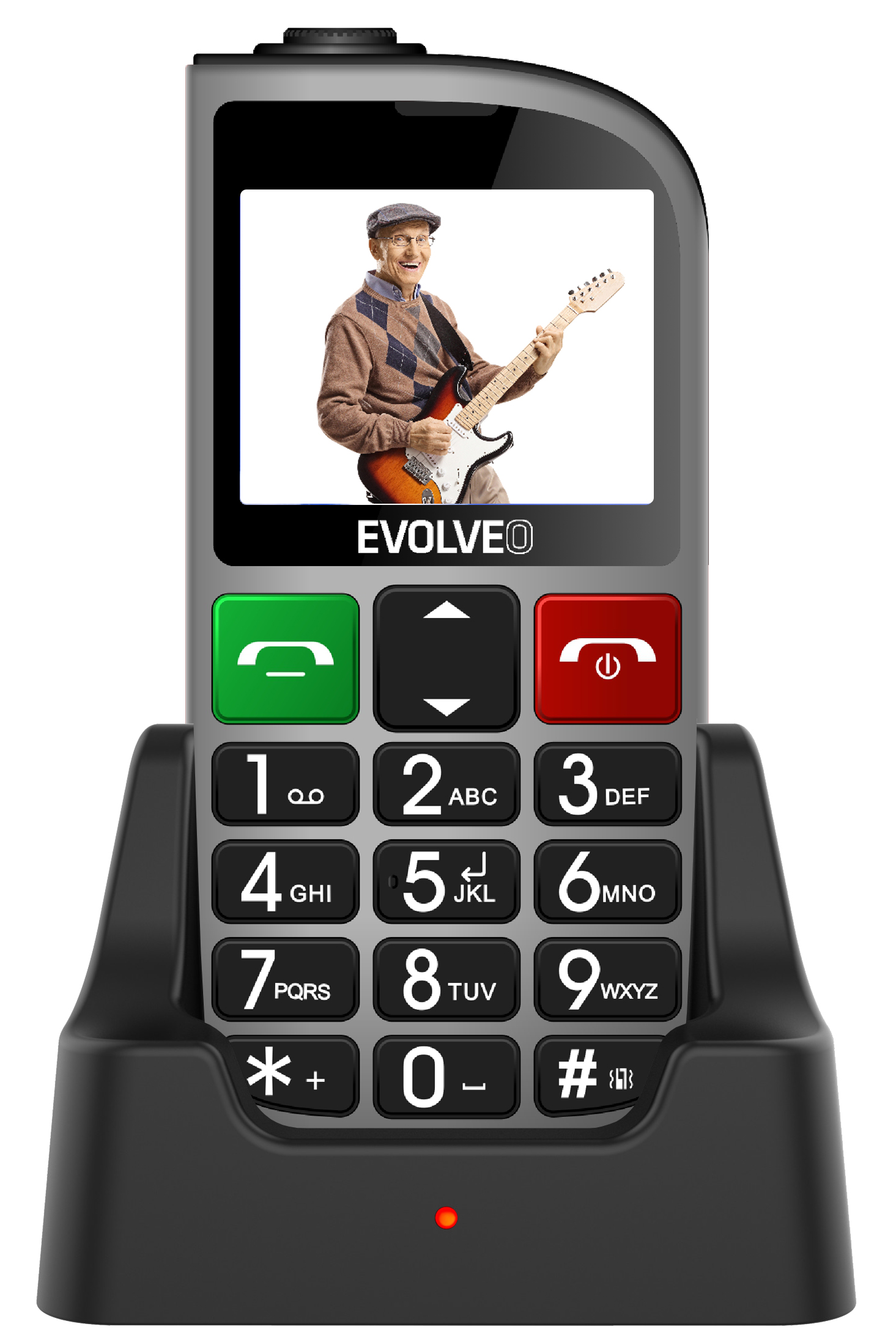 Evolveo EASYPHONE FM (EP800) Silver