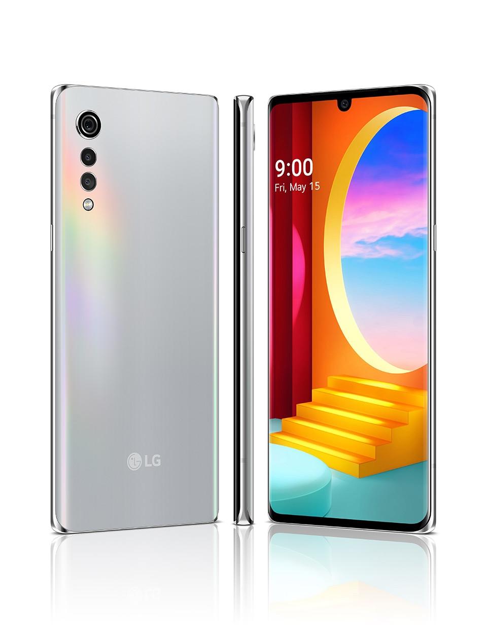 LG Velvet, DS, Aurora Silver