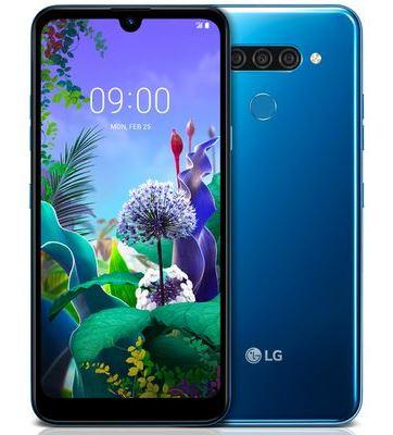 LG Q60, DS, Blue