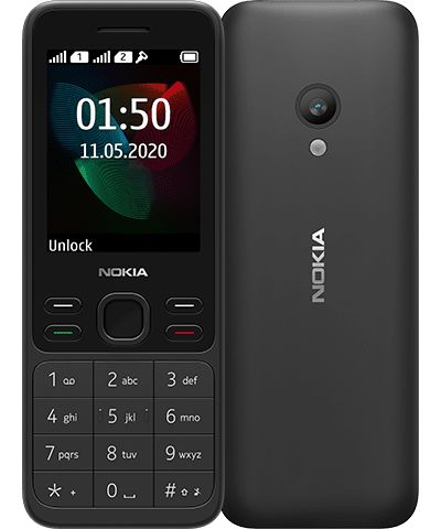 Nokia 150 (2020) DS, BLACK