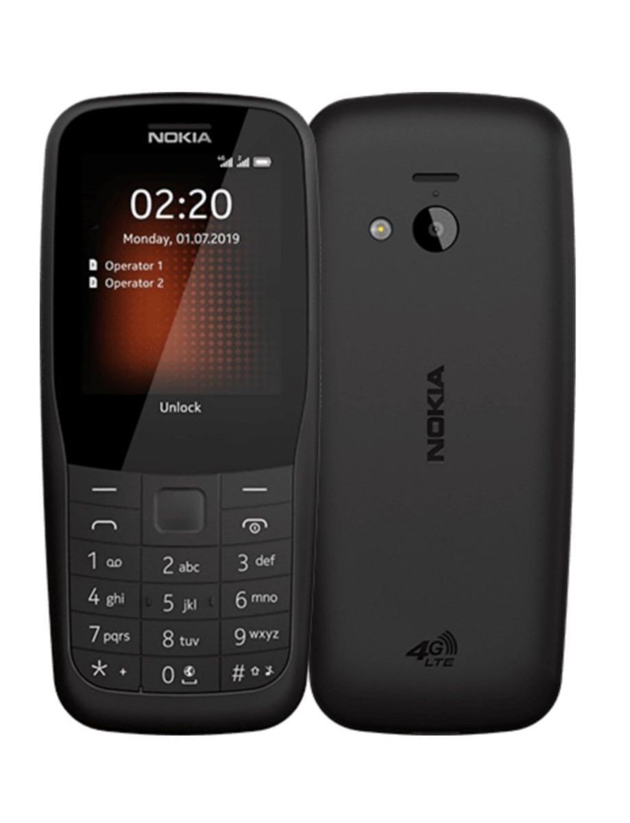 Nokia 220 4G DS, BLACK