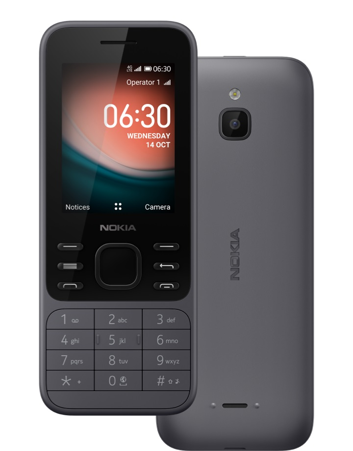Nokia 6300 4G DS, O.CHARCOAL