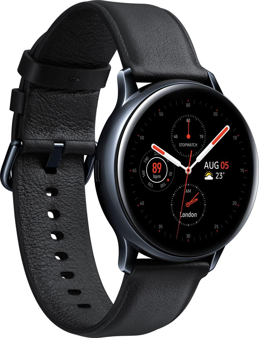 SM-R830NSKAXEH Galaxy Watch Active 2 (40mm, SS), Black